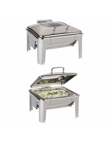 Chafing Dish easy induction Inox GN 2/3 5.5 L.