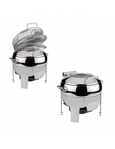 Chafing Dish redondo easy induction Inox 11 L