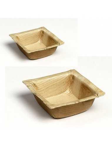 Mini bowl hojas de palmera Bali 7x7 cm (600 Uds) Precio ud 0,55€