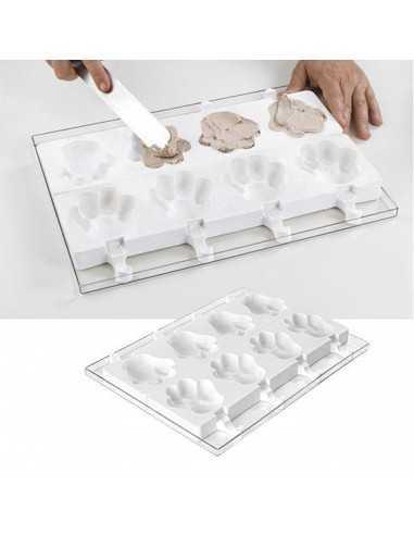 Molde para helados Pata 89X84X24MM