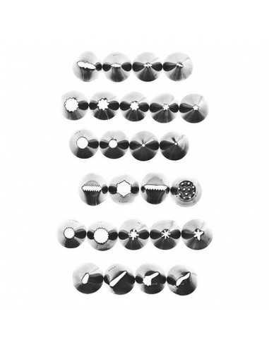 Boquillas universales. Set 26 unidades H33MM