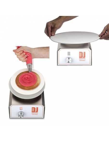 Soporte giratorio automático DJ Decor Food (1 Ud)