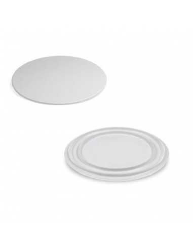 Plato de porcelana ø29 cm para soporte giratorio automático DJ Decor Food (4 Uds)