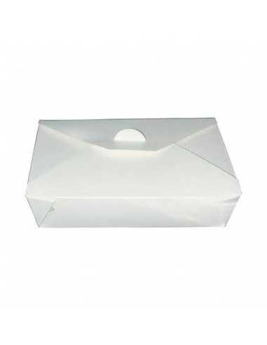 Cajas rectangular blanca