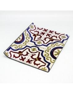 Bandeja presentacion Amenities azulejo marrón 18x23 cm (80 Uds)