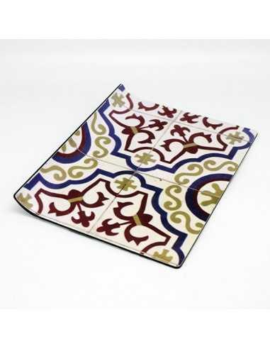 Bandeja presentacion Amenities azulejo marrón 18x23 cm (12 Uds) Precio ud desde 10,65€ €