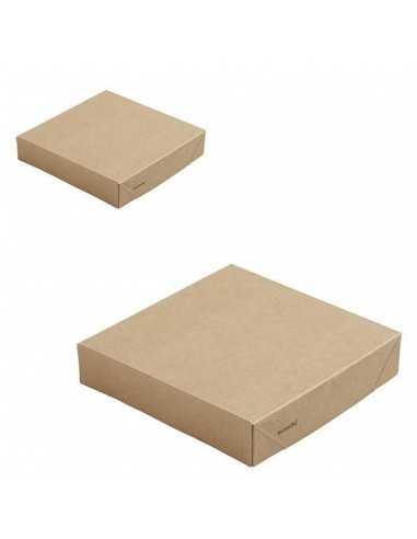 Tapa cartón kraft biodegradable para...