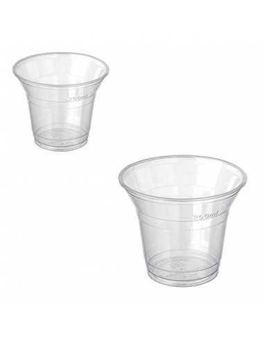 Vaso biodegradable almidón de maíz PLA Ø 9,6 cm 220 ml (1000 Uds)