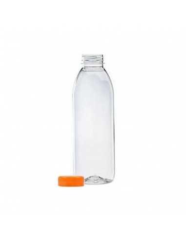 Mini botella redonda Plástico PET  Ø...