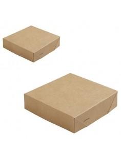 Tapa cartón kraft biodegradable sin ventana para cajas DUN188109 y DUN188110 (300 Uds)