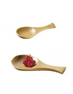 Cucharita de bambú Iwaki 9 x 4,5 cm (500 Uds) Precio ud 0,43€
