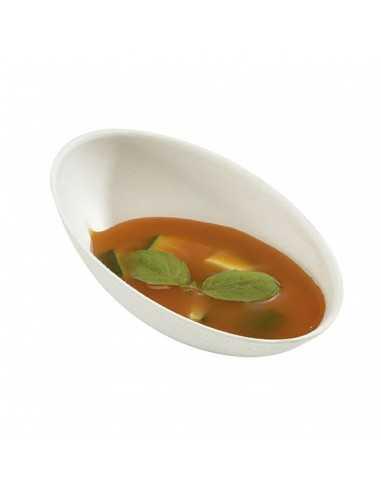 Mini cocoon pulpa de caña de azúcar blanca 8,2x5,5x3,1cm 30 ml (1000 Uds) Precio ud 0,26€