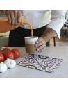 Bandeja presentacion Amenities azulejo marrón. Varias medidas (12 Uds) Precio ud desde 10,08€ €