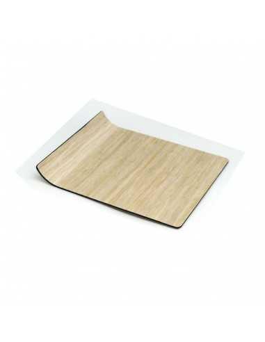 Bandeja presentacion Amenities roble 18x15 cm (12 Uds) Precio ud desde 10,89€