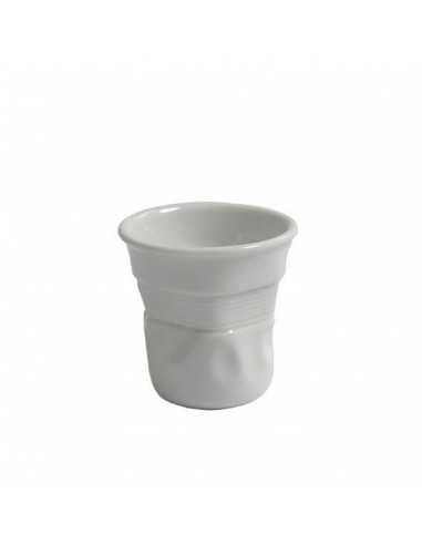 Vaso paper porcelana blanco...