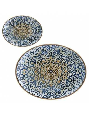 Bandeja oval porcelana Alhambra. Varias medidas y unidades. Precio ud desde 17,06€
