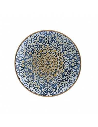 Plato llano porcelana Alhambra. Varias medidas y unidades. Precio ud desde 6,17€