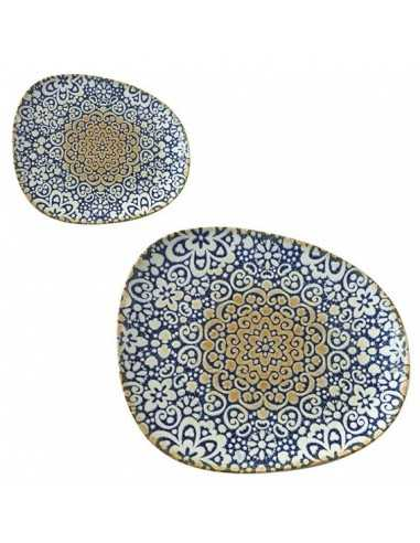 Plato llano porcelana Tango Alhambra. Varias medidas (12 Uds) Precio ud desde 8,89€