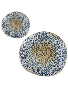 Plato hondo porcelana Tango Alhambra 26 x 24 cm (6 Uds)
