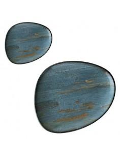 Plato llano irregular porcelana Tango Omeya. Varias medidas (12 Uds) Precio ud desde 8,89€