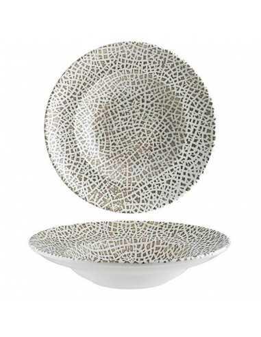 Plato rissoto porcelana Alhambra ø28 x 5,5 cm (6 Uds). Precio ud 18,39€