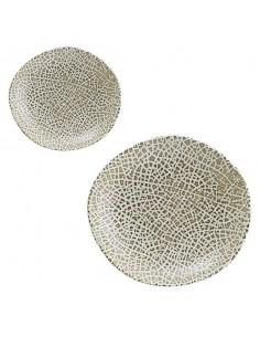 Plato hondo porcelana Tango Taipan 26 x 24 cm (6 Uds)