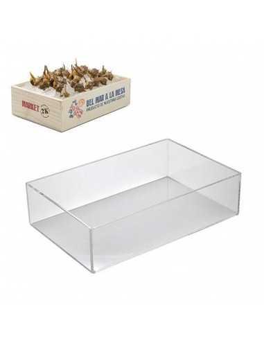 Caja marisco metacrilato 2 Kg 27.5 x 19 x 7 cm (1 Ud) Precio ud. 33,03 €