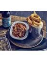 Plato de tarta de acero inox vintage estilo americano. Varias medidas (1 Ud) Precio desde 8,47€