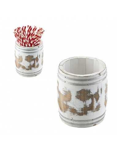 Barril de madera en miniatura. Varias medidas (1 Ud) Precio desde 31,52€
