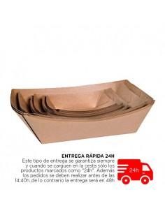 Barca de cartón kraft. Varias medidas y Uds. Precio unitario desde 0,08€
