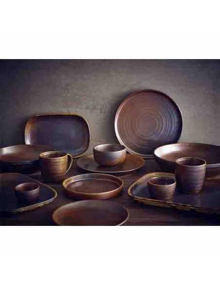 Bowl porcelana Terra cobre rústico. Varias medidas (6 Uds) Precio 9,78€/ud