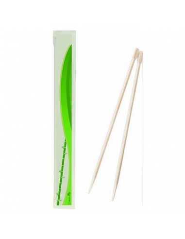 Palillos chinos de bambú envueltos (2000 Uds.)