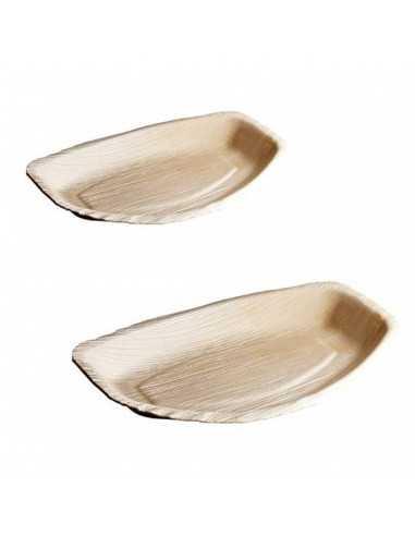 Plato oval Areca de hoja de palma. Varias medidas (25 Uds) Precio ud desde 1,13€