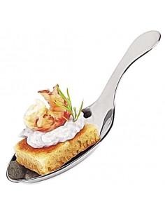 Mini cuchara de degustación plástico metalizada para degustación (200 Uds) Precio 0,14€/Ud