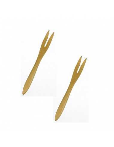 Mini cuchara de bambú 9 cm (50 Uds) Precio 0,40€ /Ud