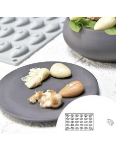 Molde de silicona en forma de ostra 30x20 cm 10 cavidades (1 Ud) Precio 22,49€