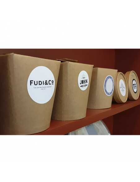 Pegatinas para personalizar envases para llevar comida