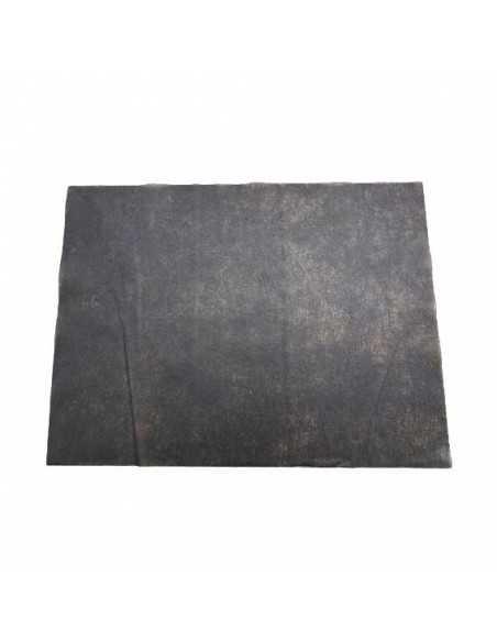Mantel individual tissu seco en color negro desechable para vestir mesas de restaurantes