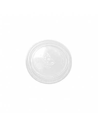 Tapa para tarrina salsero de PLA compostable