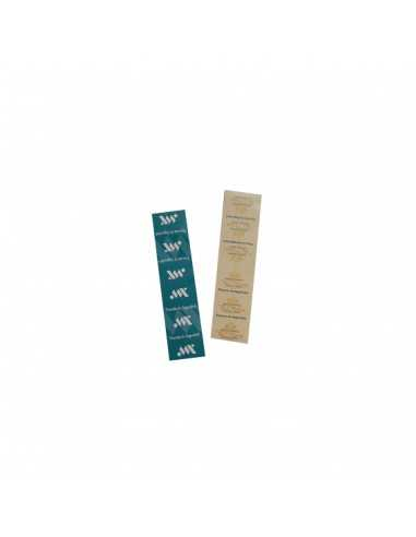 Precinto adhesivo para precintar bolsas y envases para take away