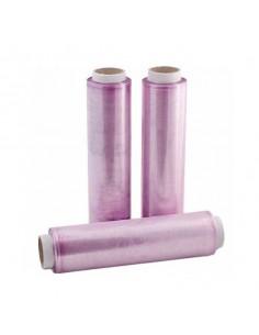 Papel film violeta para uso alimentario. Varias medidas (1 Ud)