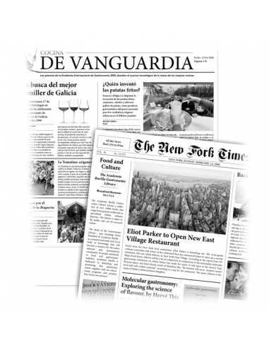 Papel de periódico parafinado personalizado 29 x 30 cm
