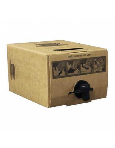 Caja de cartón para bolsa termo