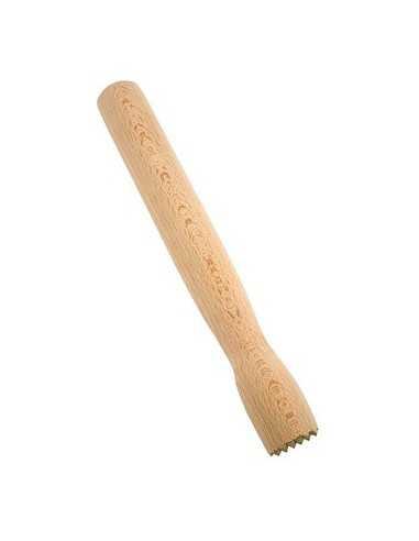 Muddler dentado madera 21 cm (1 Ud) Precio 4,58€