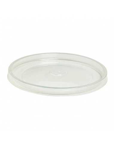 Tapa de polipropileno transparente para ensaladera