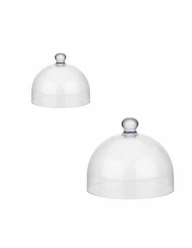 Campana de policarbonato transparente