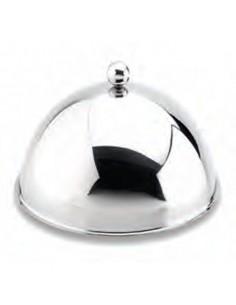Campana de acero inox cubreplatos ø28x17,5 cm (1 Ud)