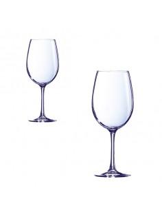 Copa de vino de cristal Cabernet. Varias capacidades (24 Uds) Precio desde 3,59€/Ud