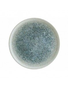 Plato llano de porcelana colección Ocean