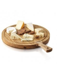 Tabla de madera de 40 cm para quesos